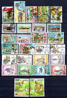 Oman 1986-1988 Sets Selection Of Fine Used Stamps