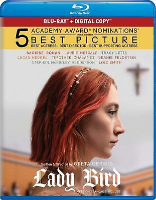 Lady Bird (Blu-ray/Digital, 2018, RARE Canadian version  WITH FRENCH)