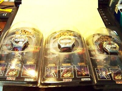 STAR WARS/ 3 watches lot / collect all three /ANALOG  WATCHES./RETRO