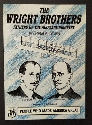 FLIGHT ENGINEERS AVIATION Wright Brothers MACHINES INVENTION AIRPLANES Dayton OH