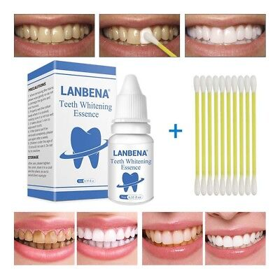 Teeth Whitening Essence Powder Oral Hygiene Serum Plaque Stains Remover Natural
