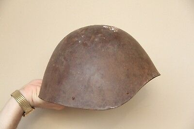 "Rare Italian Helmet Model 1934 - 39 "" Greek "" Wwii Italy See Photos"
