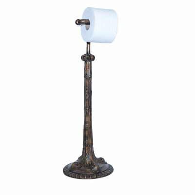Hickory Manor House Standing Acanthus Toilet Paper Holder