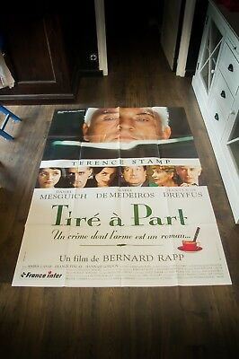 LIMITED EDITION Terence Stamp 4x6 ft French Grande Movie Poster Original 1996