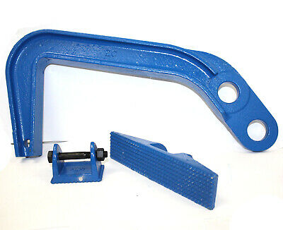 6 Ton Chassis Pulling Big Deep Hook Clamp Puller Pulling Set Auto body