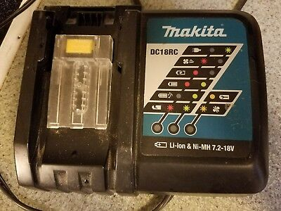 GENUINE Makita DC18RC 18V Rapid Battery Charger 18 Volt Lithium ion Tools Drill☆