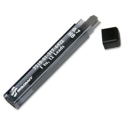 Lot 10 Skilcraft Dual action Mechanical Pencil Lead Refill 0.70 mm