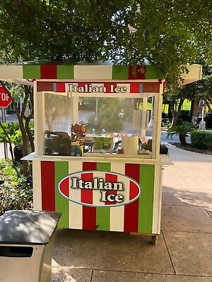Italian Ice Kiosk Mobile and ready for placement
