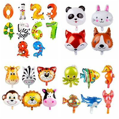 Jungle Animal Foil Balloon Baby Shower Favor Kids Safari Birthday Party Supply