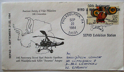 Helicopter, Letter USA 1984 (32513)