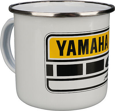 Yamaha 60th Anniversary Ceramic Coffee Mug w/ Stainless Steel Rim 23-006