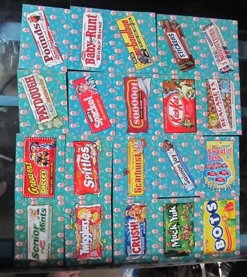 Wacky Packages Go To The Movies Concession Stand Sticker Set Plus Bonus!!