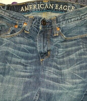 American Eagle Outfitters AEO Men/Student Size 26x28 Slim Straight Jeans