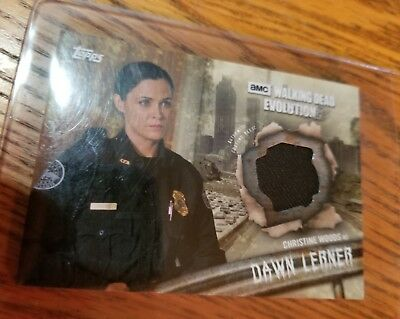 The Walking Dead Authentic Relic Card Dawn Lerner,New