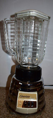 Vintage Oster Blender - Osterizer Imperial, Beehive, Chrome and Glass, 2 speed