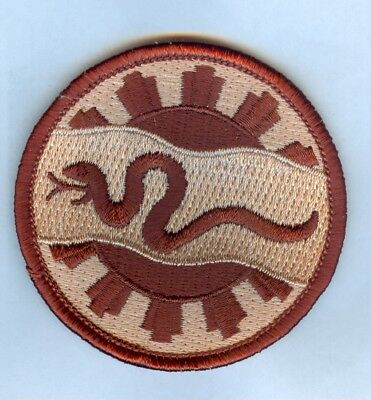 US Army 116th ARMOR CAV REGT - Desert Subdued Patch ... WOVEN STYLE ...... MINT