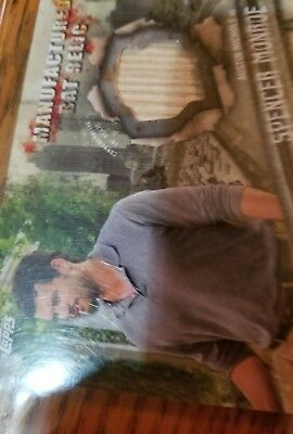 The Walking Dead Bat Relic Card Spencer Monroe,new