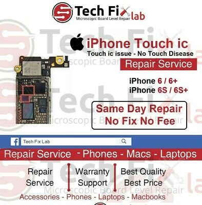 iPhone 6 6S 6 Plus 6S Plus Touch IC - No Touch Disease Repair Service