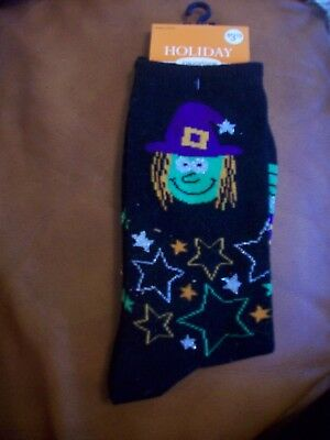 Halloween Socs Holiday Inspirations Socks Shoe Size 4-10 New In Tag