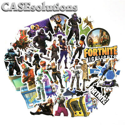 Epic Games FORTNITE Battle Royale Sticker Lot of 85pcs !No Repeat! Decals