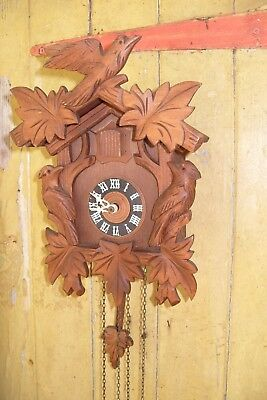 Cuckoo  Clock Striking   Clock Working  Weight Driven
