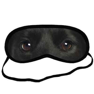New Black SCHIPPERKE EYES Dog Puppy Lovers Small-Med Size SLEEP MASK Gift