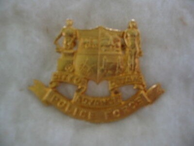 City Of Ottawa  Police Force, Ontario, Canada. Rare Obsolete Vintage Hat Badge
