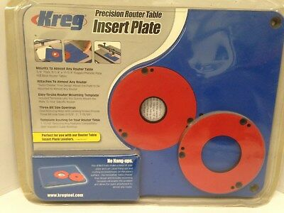 Kreg router table insert plate w level loc rings predrilled for kreg precision router table insert prs3030 greentooth Gallery