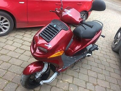 **RARE** Italjet Formula 125 Scooter in Burgundy Twin cylinder
