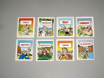 Kpl.-Satz Nutella Asterix Mini-Strips 1996