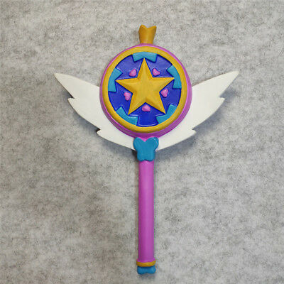 Star vs. the Forces of Evil Princess Magic Wand Stick Cosplay Rubber Props Gifts