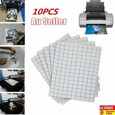 10/20/50 Sheets A4 Iron Heat Transfer Paper For The Light Cotton $W#