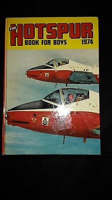 The Hotspur Book For Boys 1974 Vintage Adventure/Action Annual