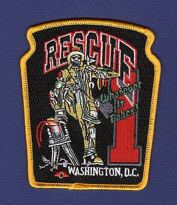 DIST. OF COLUMBIA - R-1 Fire Patch !