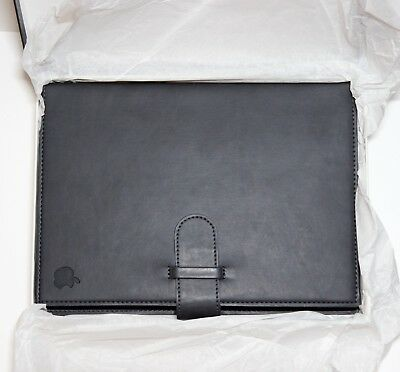 Apple Leather Journal - 7x10 Black Notebook from Apple Company Store NEVER USED