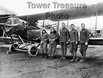 World War I Flying Aces  ** 12th AERO SQUADRON **  Photo Print (8.5 x 11)