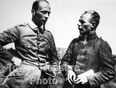World War I Flying Aces  ***  VON SHLEICH  &  UDET  ***  Photo Print (8.5 x 11)