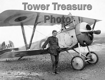 World War I Flying Ace  *** BILLY BISHOP  ***  Photo Print  Victoria Cross Rec.