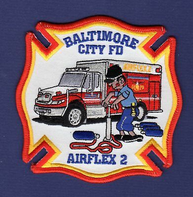 MARYLAND - Baltimore City Airflex 2 Fire Patch !