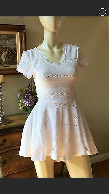 c14a7983597 LF Stores House Of Three White Lace Romper Dress S Free People Sabo Skirt  Carmar