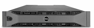 DELL PowerVault MD1200 12X 3.5, 2x SAS CONTROLERS 2x PSU
