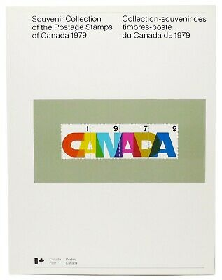 1979 Canada ANNUAL SOUVENIR COLLECTION 22 --- CV $30 --- with MINT NH stamps