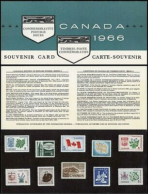 1966 CANADA SOUVENIR COLLECTION CARD 8 --- RARE Extra Fair condition ---
