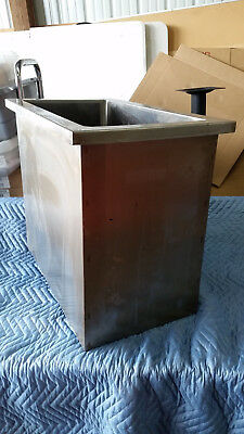 Stainless Steel Drop-In Ice Bin - Larger Size
