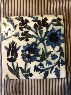 Antique Islamic Tile 18th Century Lockwood De Forest Collection