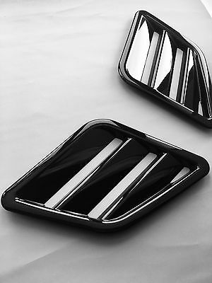 FOCUS RS MK3 style ABS plastic bonnet vents universal FORD VAUXHALL CORSA FIESTA
