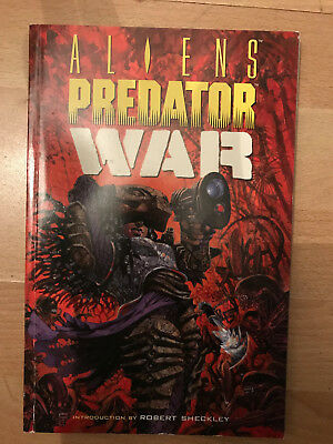 Aliens Vs. Predator War TPB Paperback graphic novel Randy Stradley