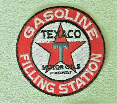 TEXACO Gasoline Filling Station patch 2-7/8 #3372