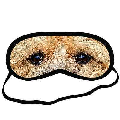 New 2PCS NORWICH TERRIER EYES Dog Puppy Lovers Small-Med Size SLEEP MASK Gift