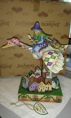 "NIB Jim Shore Mother Goose Figurine ""Rhyme Time"""